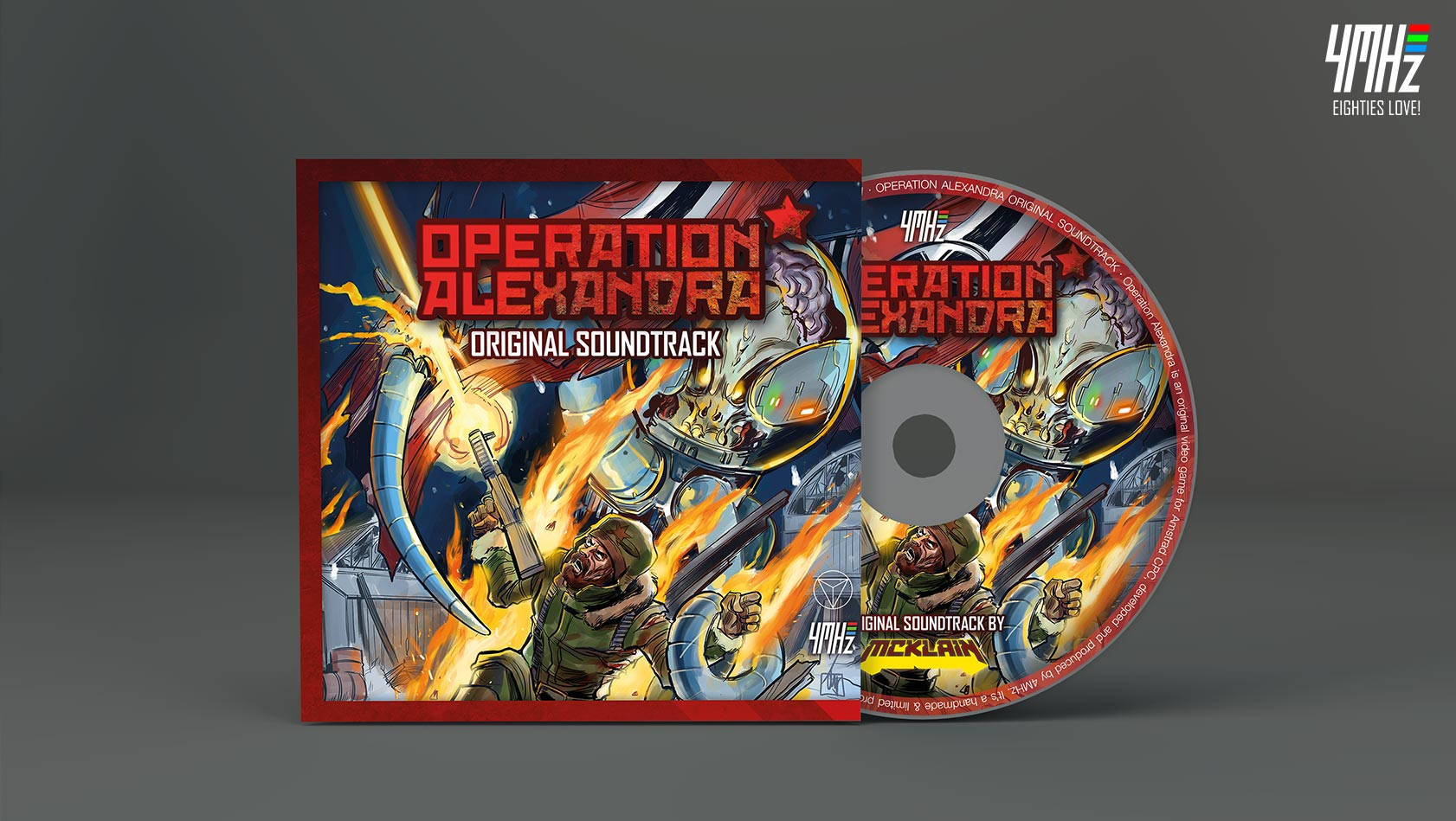 Operation Alexandra by 4MHz